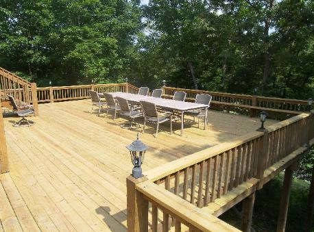 Recapped deck in Branson West, MO