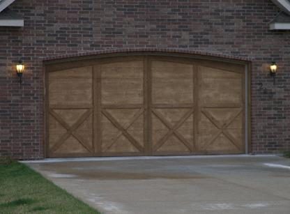 Cedar garage door custom carpenter for Branson MO & Master Handyman LLC - Garage Door Install u0026 Custom Cedar Garage ...
